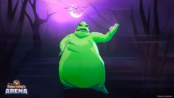 Oogie Boogie The Nightmare Before Christmas Wiki Fandom Jack skellington, the pumpkin king of halloween town, is tired of the same old thing every year: oogie boogie the nightmare before