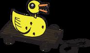 Mi stickerbook thenightmarebeforechristmas prop toy duck 4adb2a1b