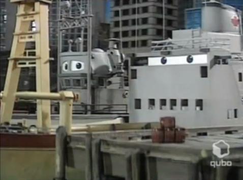 The Flat-Eyed Coast Guard Ship