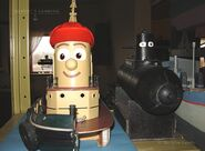 Theodore Tugboat props at Fred Allen home