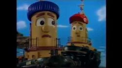 Theodore Tugboat-Hank Hurts A Ship