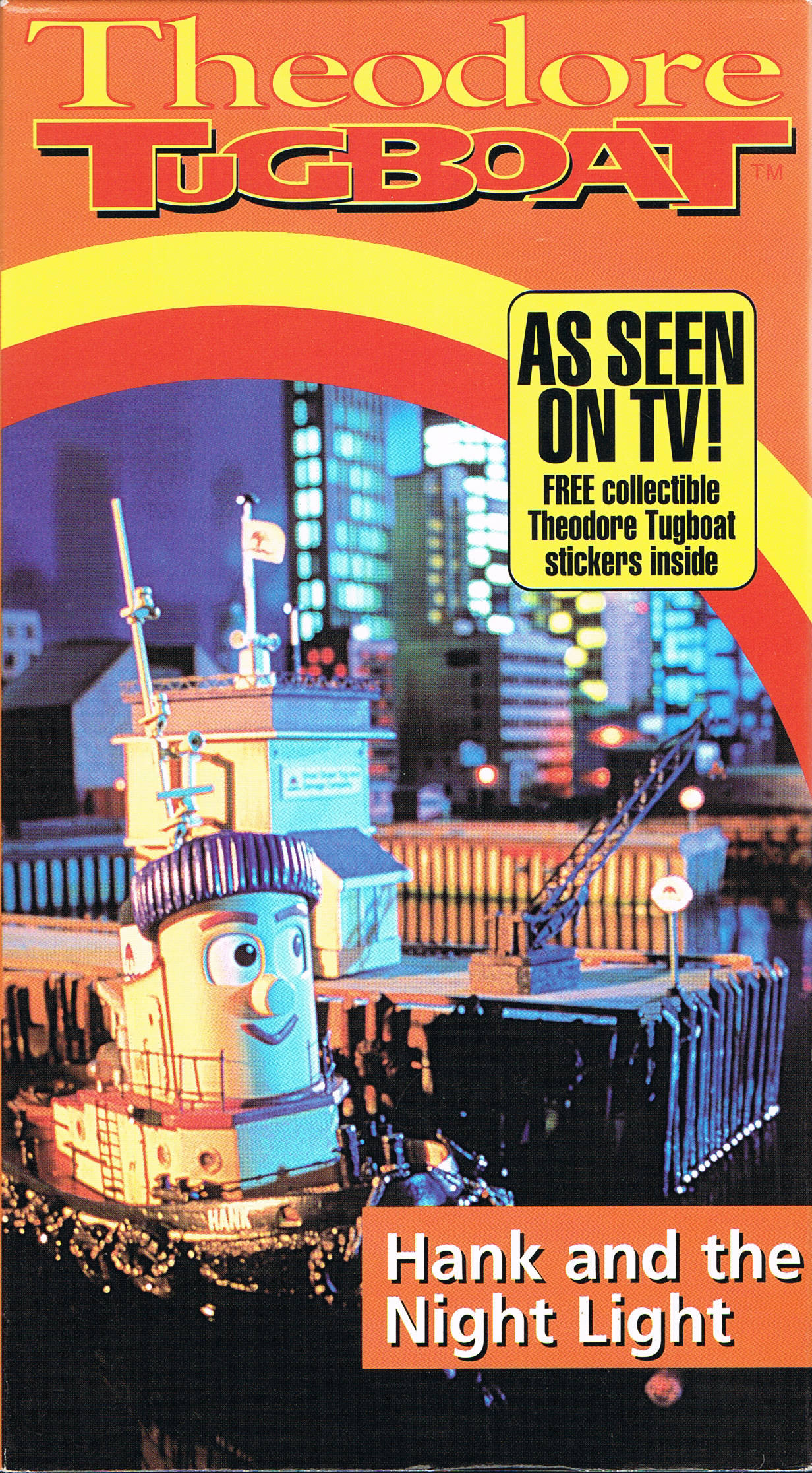 Hank and the Night Light (VHS)