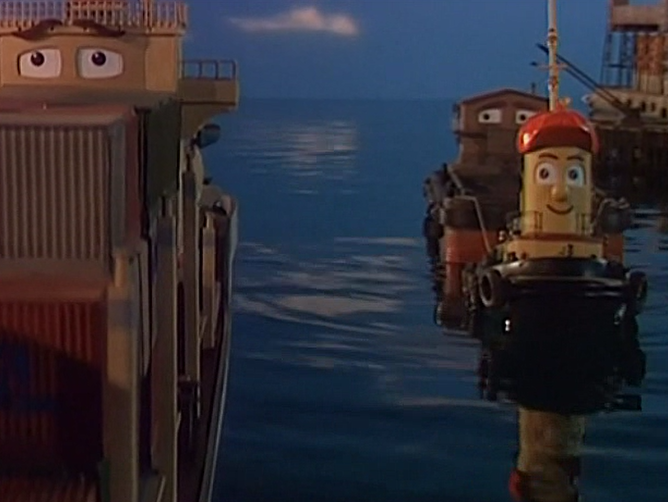 Theodore and the Scared Ship
