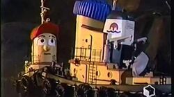 Theodore Tugboat-The Dark And Scary Cove