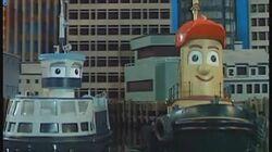 Theodore and the Runaway Ferry Theodore Tugboat