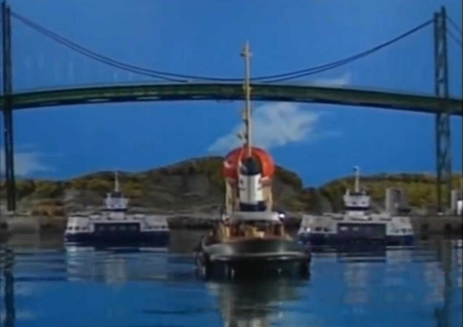 Theodore and the Big Harbour