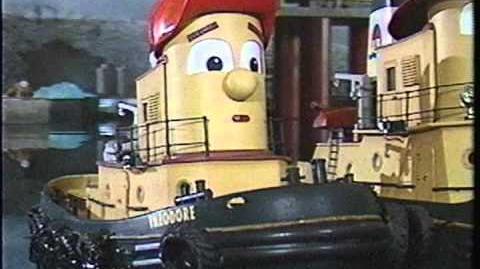 Theodore & The Big Oil Rig