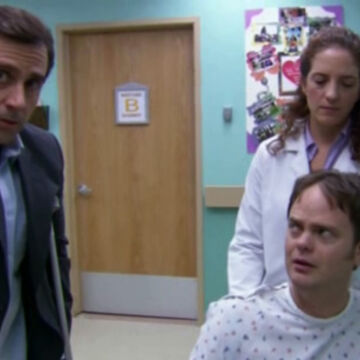 The Injury Dunderpedia The Office Wiki Fandom