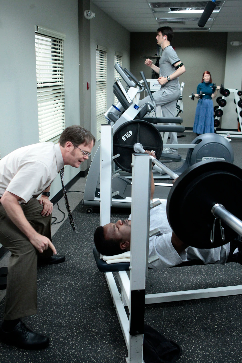 Dwight Schrute Gym for Muscles