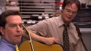 """The Office - Dwight and Andy sing """"Take Me Home, Old Country Road"""""""