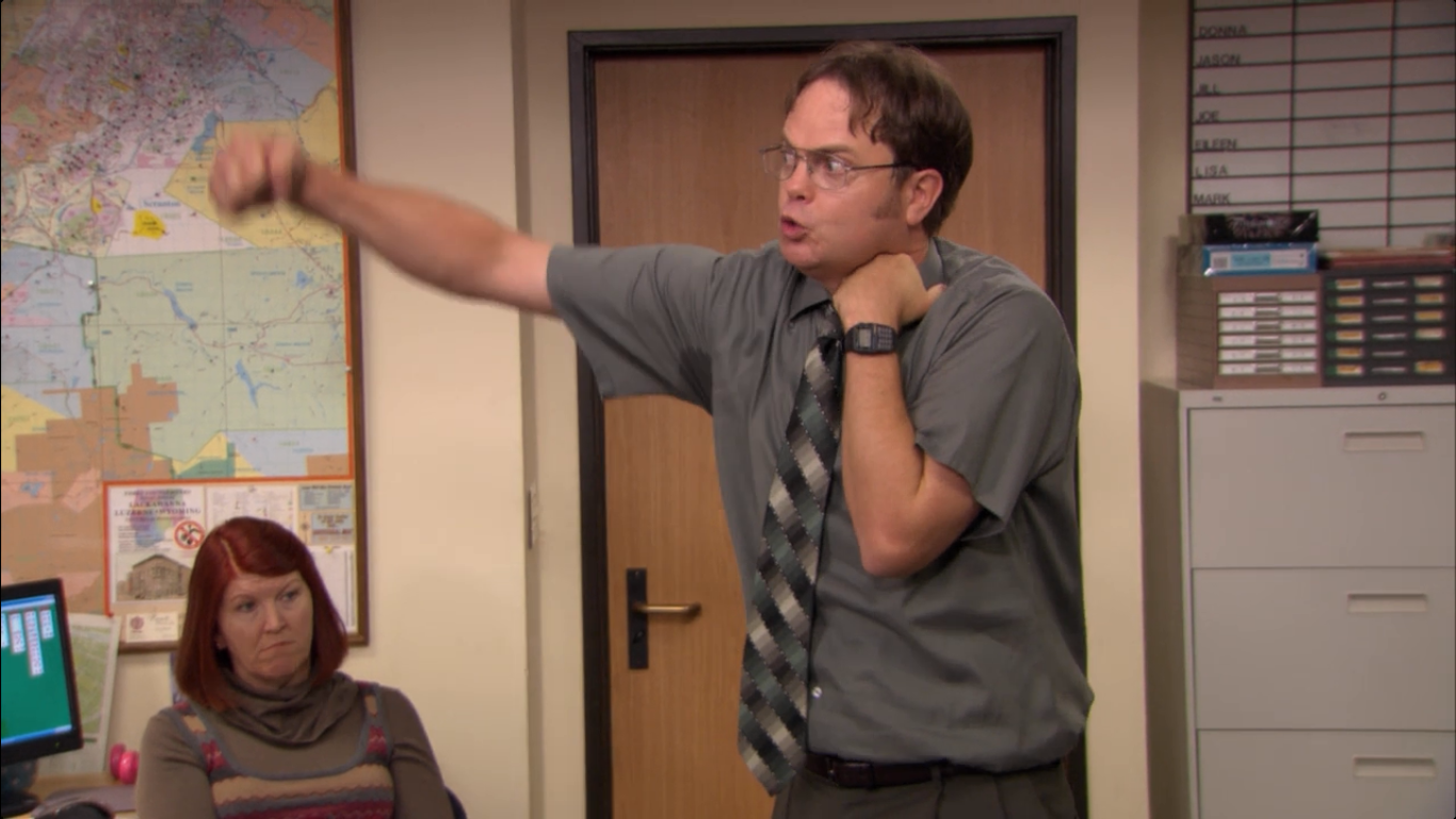 Dwight attacking Dwight.png