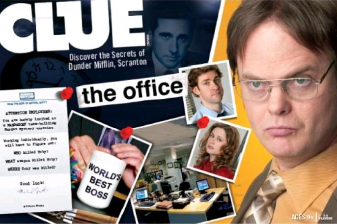 Clue: The Office Board Game