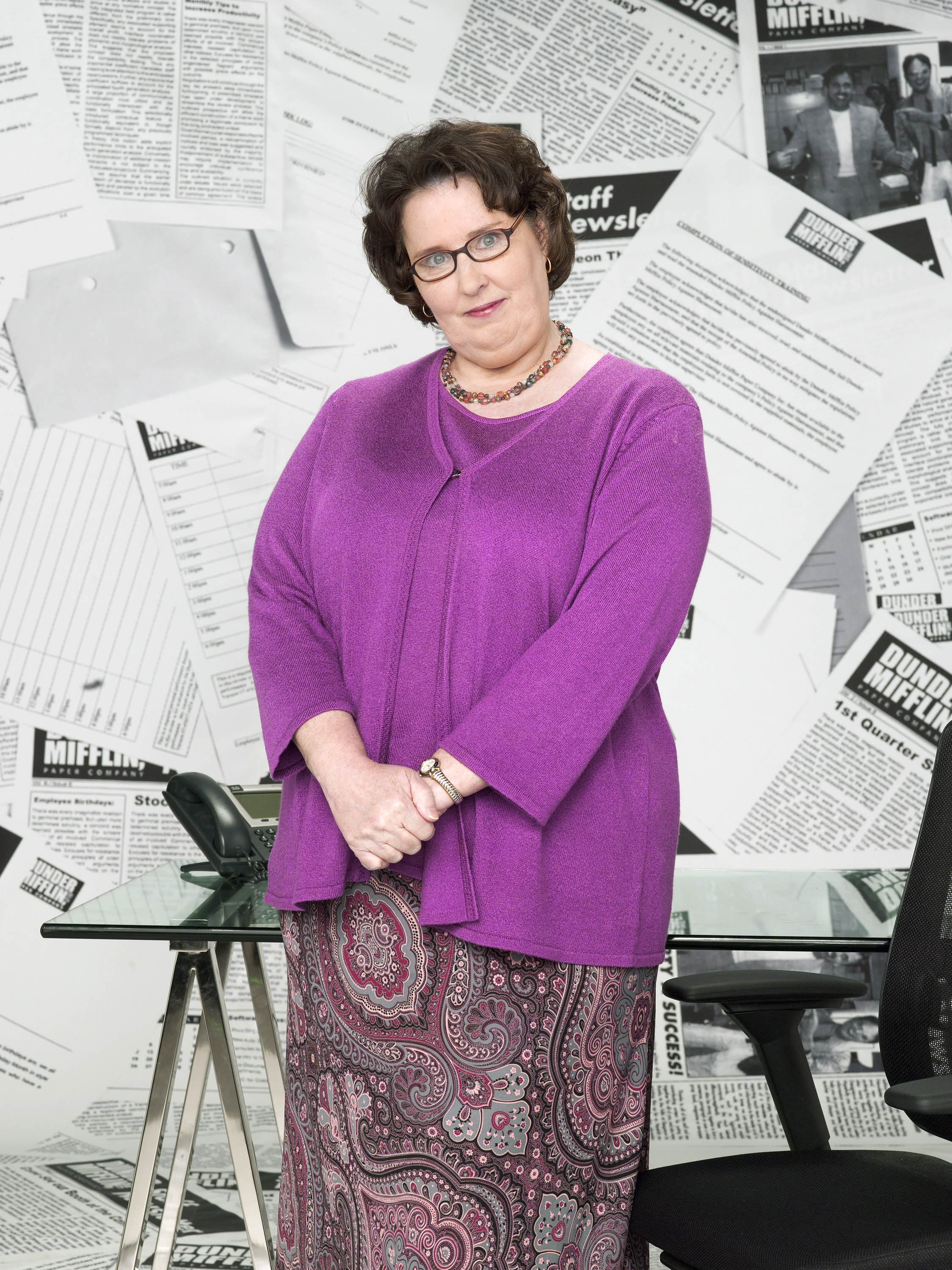 Phyllis Vance Dunderpedia The Office Wiki Fandom