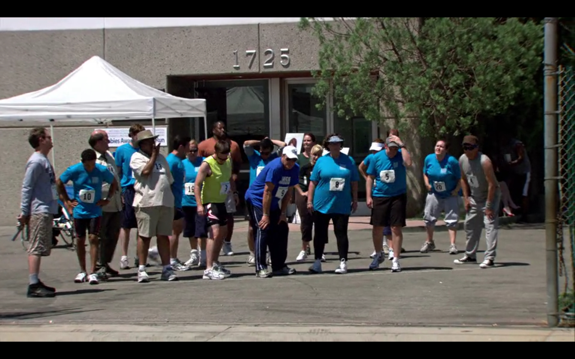 Michael Scott's Dunder Mifflin Scranton Meredith Palmer Memorial Celebrity Rabies Awareness Pro-Am Fun Run Race For the Cure