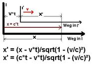 Lorentztransformation