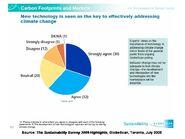 Sustainability Survey 2009-2