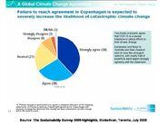 Sustainability Survey 2009