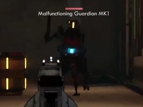 Malfunctioning Guardian MK1
