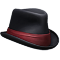 Fedora red banded icon