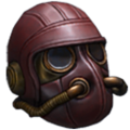 Enclosed padded helm icon