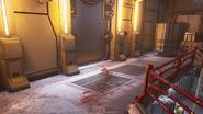 OOPS Elevator Bloody Footprints
