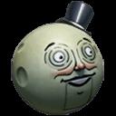 Defective MoonMan helmet