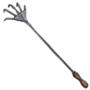 Claw rake