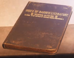 Index of Banned Literature (log)