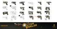 Force Pistol Concepts