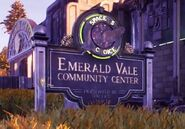 Emerald Vale sign