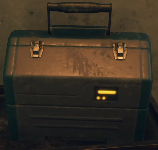 Banged-Up Toolbox