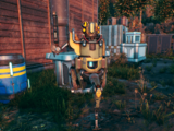Mechanical sentry