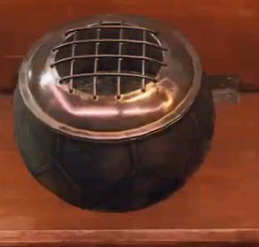 Incense vessel (log)