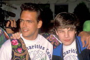 Actor-robert-rusler-and-actor-jay-r-ferguson-attend-the-1990