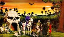 Skull Cave Phantom Family Glenn Ford