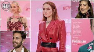 The Politician Premiere Interviews - Ben Platt & Lucy Boynton on the hit Netflix show