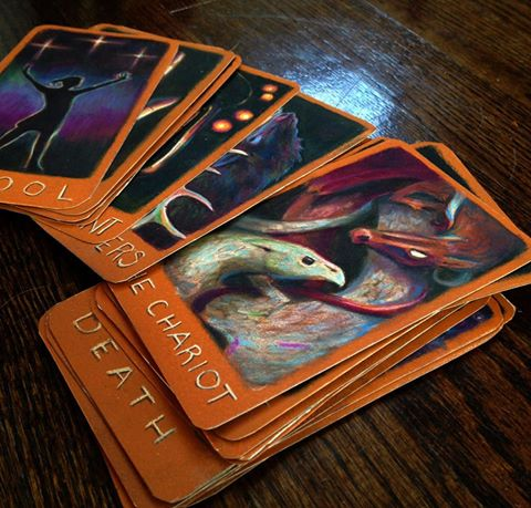 Asnow89/Maggie Creates Tarot Cards for The Raven Cycle