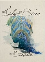 Blue Lily, Lily Blue, Nook cover
