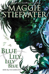 Blue Lily, Lily Blue, US hardbound cover