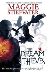 The Dream Thieves, UK paperback cover