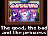The Good, the Bad, and the Princess