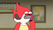 S6E25.091 Margaret's Angry at Rigby's Voice Message Prank