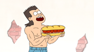 S4E13.013 A Guy About to Eat the Death Sandwich