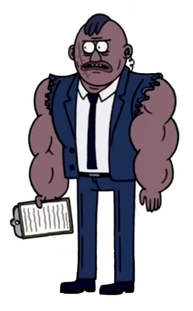 regular show main characters - Clip Art Library