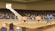 Sh03.030 OOOHHing in Through a Sumo Wrestling Match in Japan 02