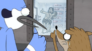 S4E17.250 Mordecai and Rigby Giving Gregg a Final Thumbs Up