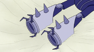 S6E24.374 Drills Appearing Out of Moto-Goosowary's Legs