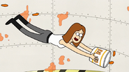 S7E32.176 Pam Scooping Up the Wings