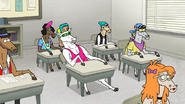 S6E21.053 Party Horse 42699 Bored in Class