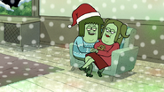 S6E10.141 Muscle Man and Starla on the Sofa